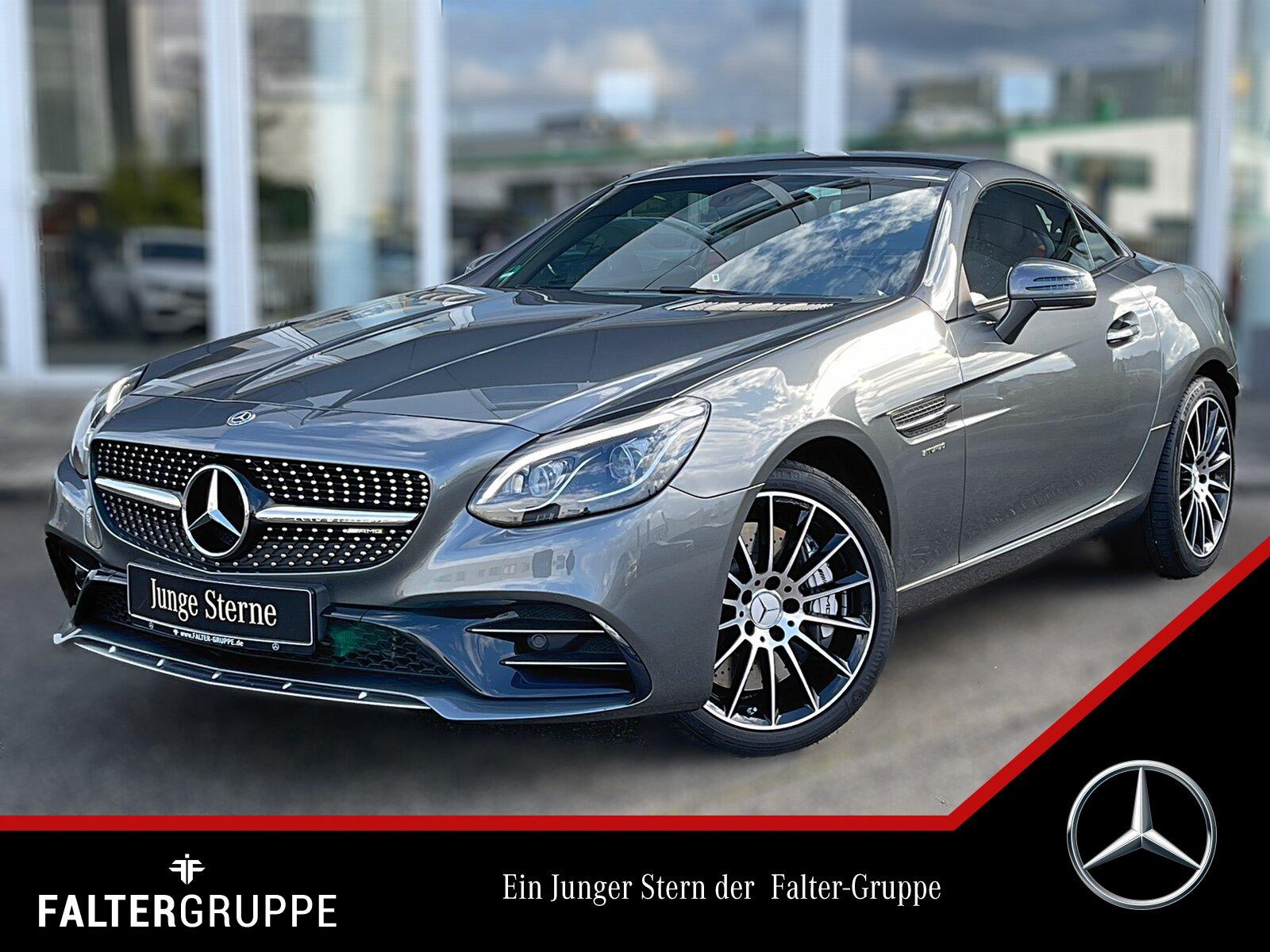 Mercedes-Benz SLC 43 AMG KAMERA+ILS+PANO+AIRSCARF+TOTWINKEL+18, Jahr 2019, Benzin