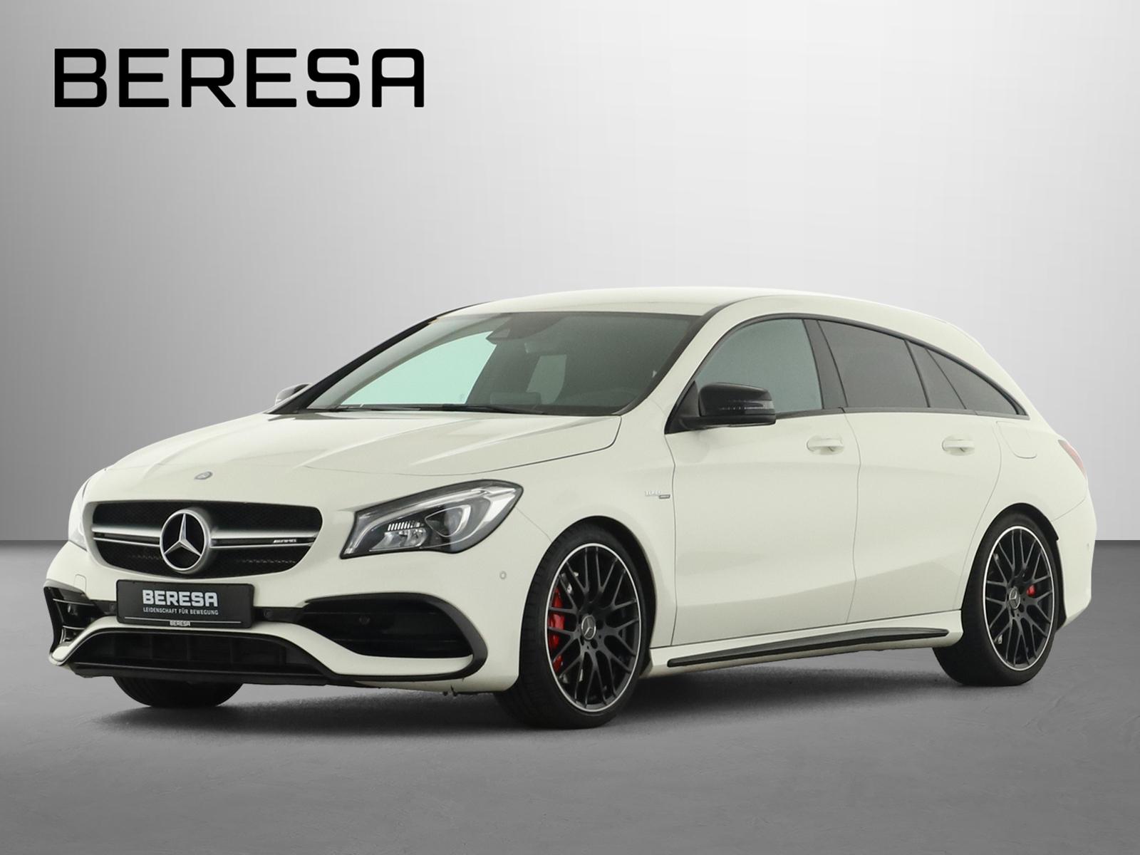 Mercedes-Benz CLA 45 4M SB Harman Designo Comand LED Kamera, Jahr 2017, Benzin