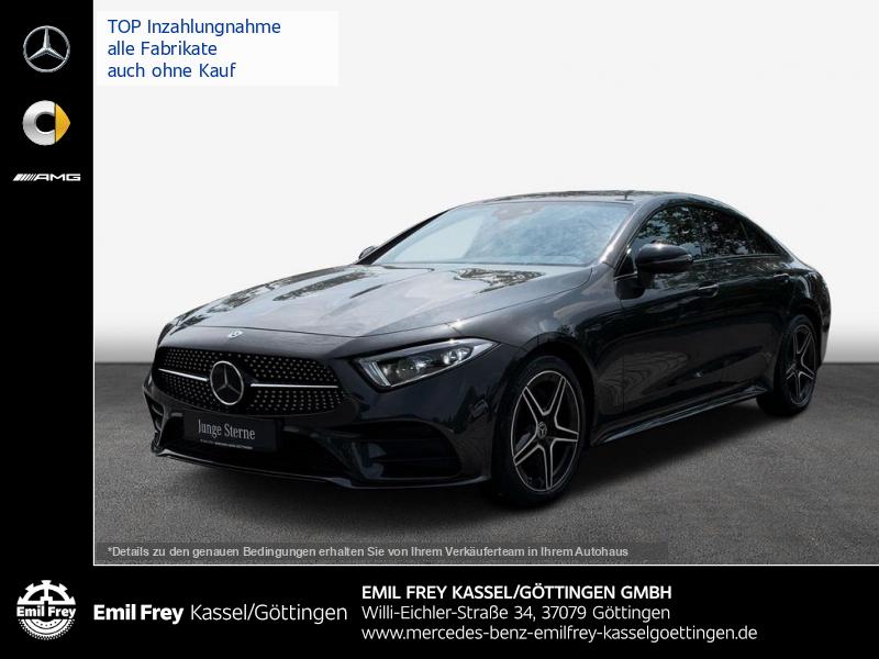 Mercedes-Benz CLS 220 d AMG+Night+AHK+COM+MBeam+Distro+DAB, Jahr 2020, Diesel