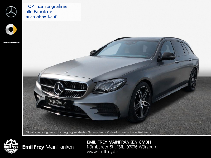 Mercedes-Benz E 43 AMG 4M T+Wide+PAN+COM+HiFi+Magno+ex NP117T, Jahr 2017, Benzin