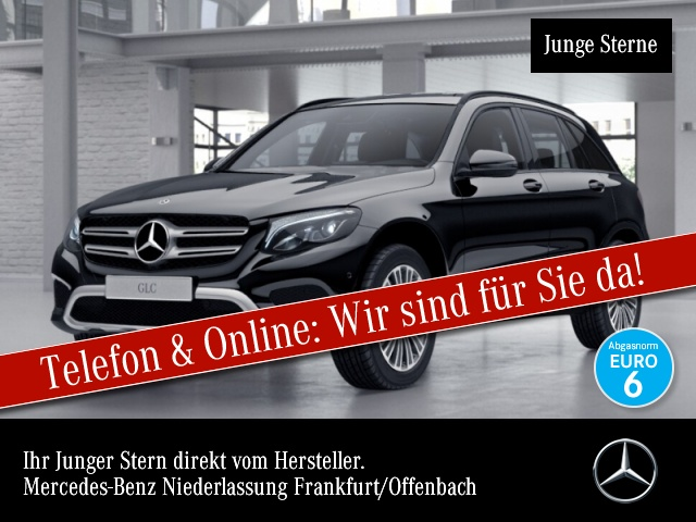 Mercedes-Benz GLC 350 d 4M LED AHK Navi Spurhalt-Ass SpurPak PTS, Jahr 2018, Diesel