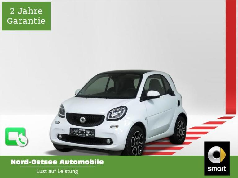 smart fortwo coupé 52 kW passion cool+Audio LED Pano, Jahr 2018, Benzin