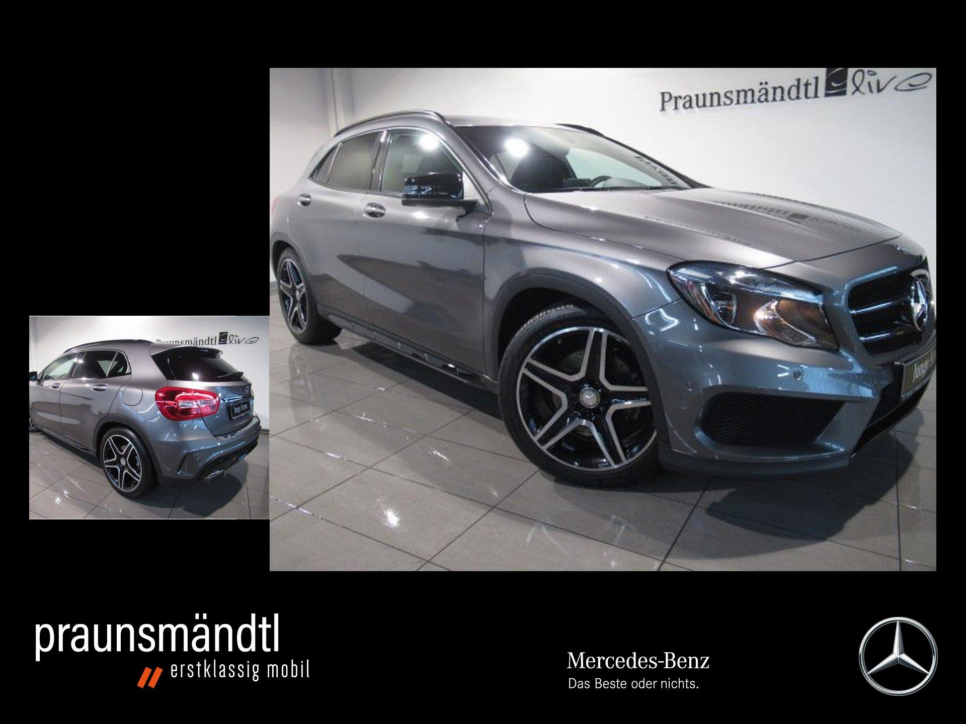 Mercedes-Benz GLA 250 AMG Night 7ATG/PTS/Navi/SHZ/Ambiente/CD, Jahr 2016, Benzin