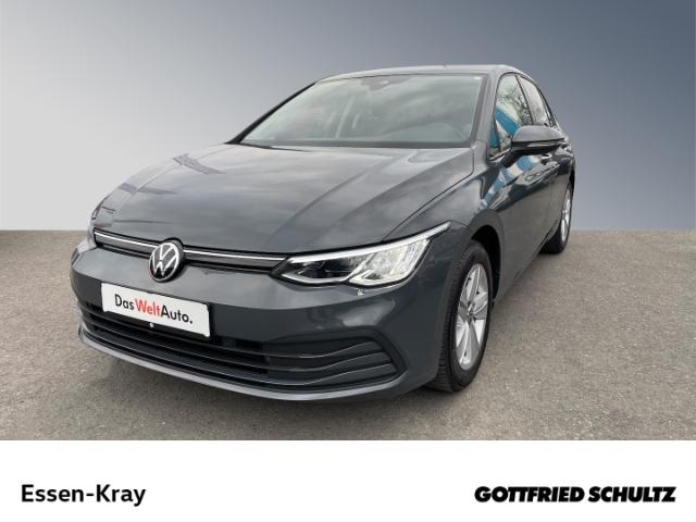 Volkswagen Golf Life 1.5 TSI LED NAVI PDC SHZ GRA FSE, Jahr 2020, Benzin