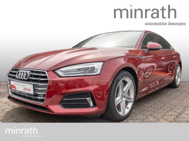 Audi A5 Sportback sport 2.0 TFSI S line Leder Xenon Navi StandHZG Keyless e-Sitze Rückfahrkam., Jahr 2017, Benzin