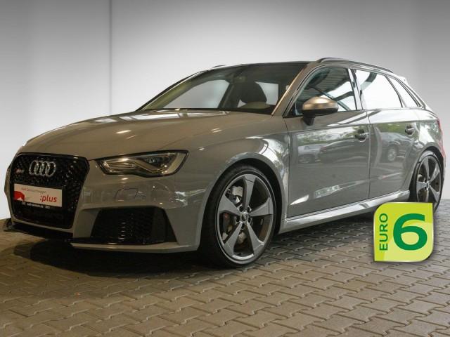 Audi RS3 Sportback 2.5 TFSI qu. Pano Navi LED uvm, Jahr 2016, Benzin