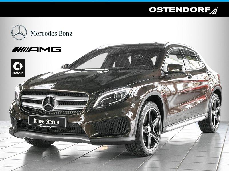 Mercedes-Benz GLA 220 d 4M *AMG*Street Style*Bi-Xenon*Navi*PTS, Jahr 2014, diesel
