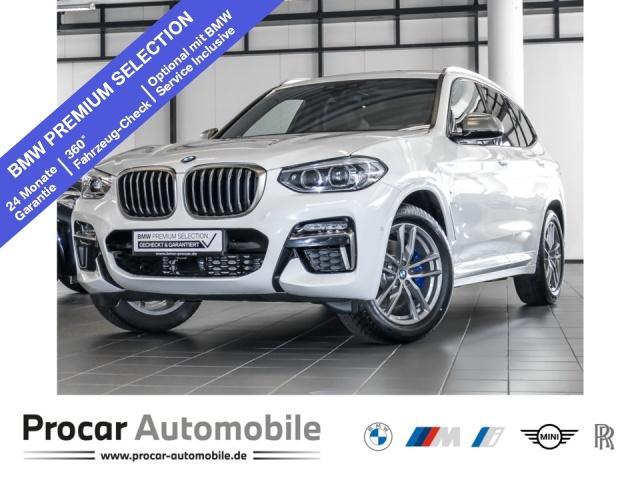 BMW X3 M40d AT Innovationsp. Sport Aut. Panorama AHK, Jahr 2020, Diesel