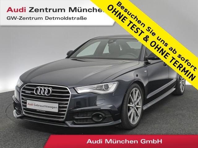 """Audi A6 3.0 TDI qu. S line AHK Standhz. ACC Leder Navi el.Sitze 19"""" S tronic, Jahr 2018, diesel"""