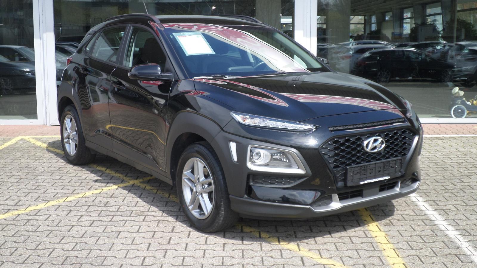 Hyundai Kona 1.0 KAMERA KLIMA SHZ 41.924 KM 1. HAND, Jahr 2018, Benzin