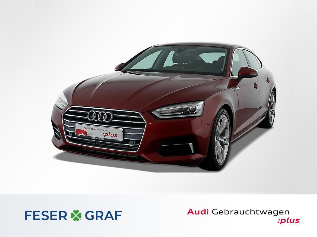 Audi A5 Sportback Sport 40TFSI Navi/Leder/DAB/18 Zoll, Jahr 2019, Benzin