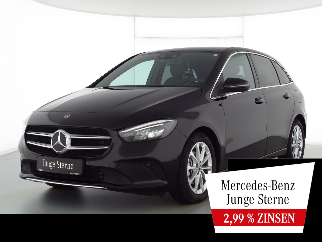 Mercedes-Benz B 180 Progressive+MBUXHighEd+LED-HP+Sthzg+Kamera, Jahr 2020, Benzin