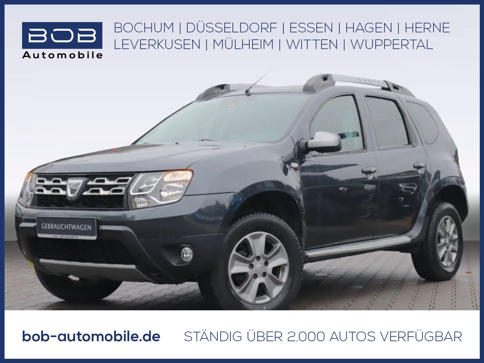Dacia Duster SCe 4x2 Celebration Bluetooth Klima Alu, Jahr 2015, Benzin