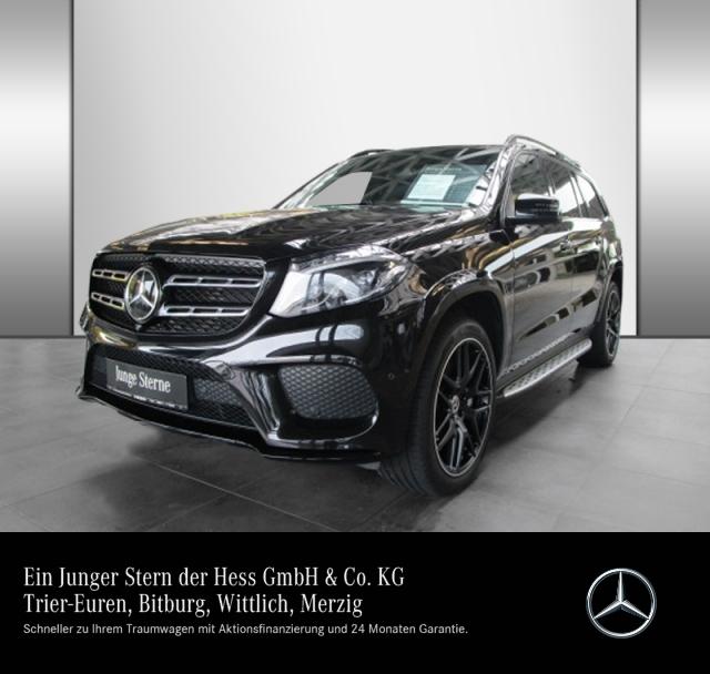 Mercedes-Benz GLS 350 d 4M AMG Night Pano B&O KeyGo Distr 360, Jahr 2018, Diesel