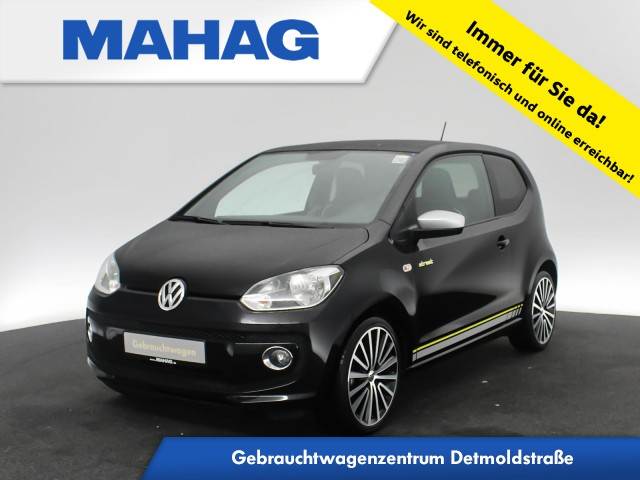 Volkswagen up! 1.0 high StreetUp letherettePack SportPack maps&more Panorama 17Zoll 5-Gang, Jahr 2016, Benzin