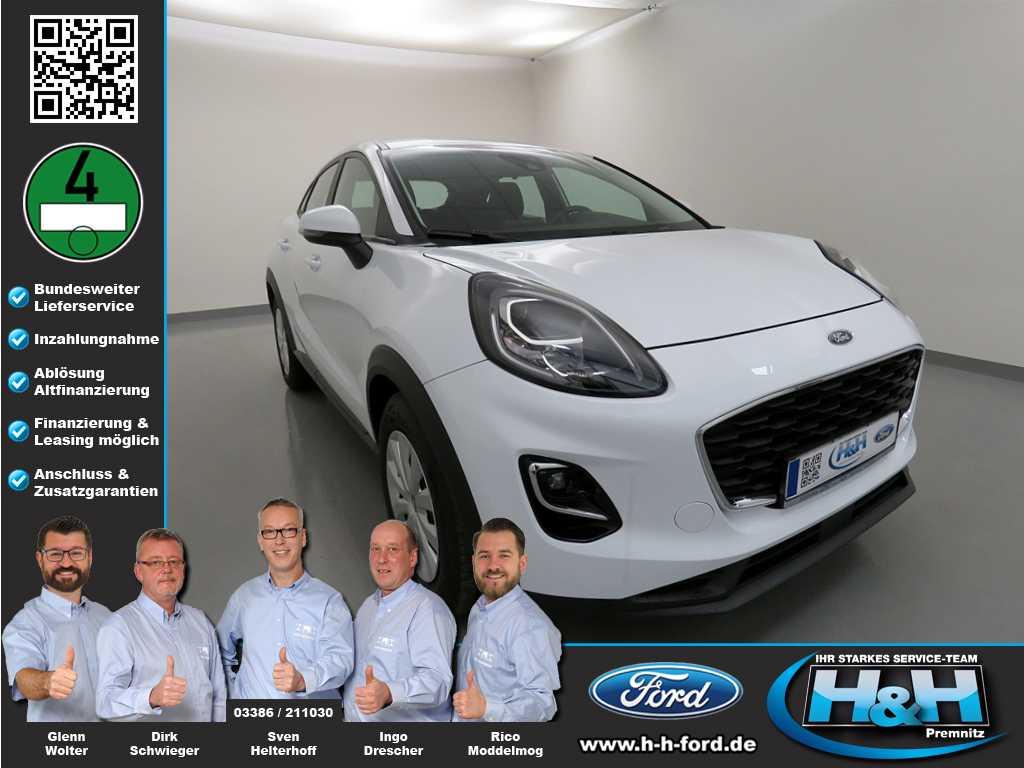 Ford Puma 1.0 EcoB (Sitzheiz+LED+DAB), Jahr 2020, Benzin