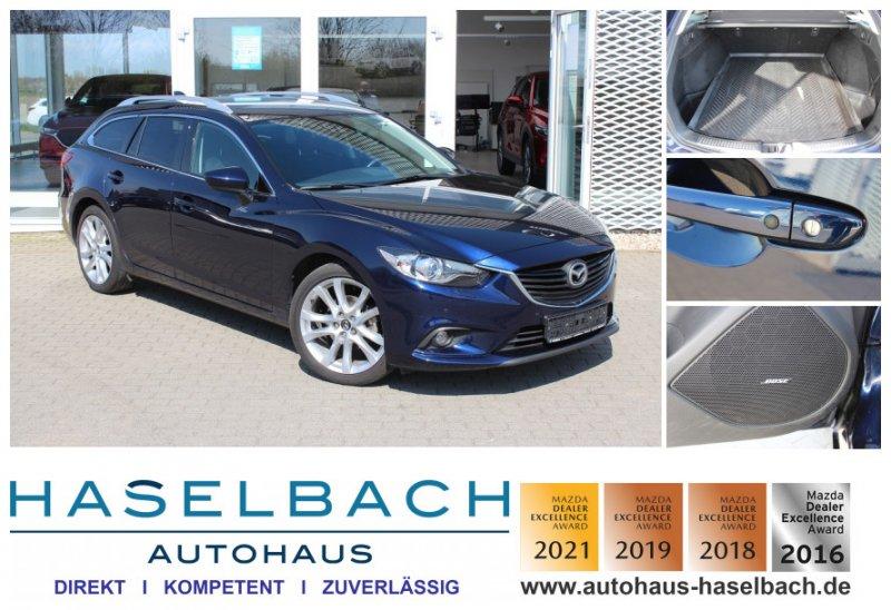 Mazda 6 SPORTS*Rückfahrkamera*Sitzheizg*BOSE Sports-Line, Jahr 2013, Benzin