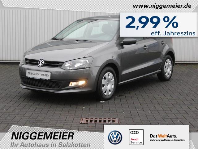 Volkswagen Polo 1.2 Trendline KLIMA+CD-RADIO+1.HAND, Jahr 2013, Benzin