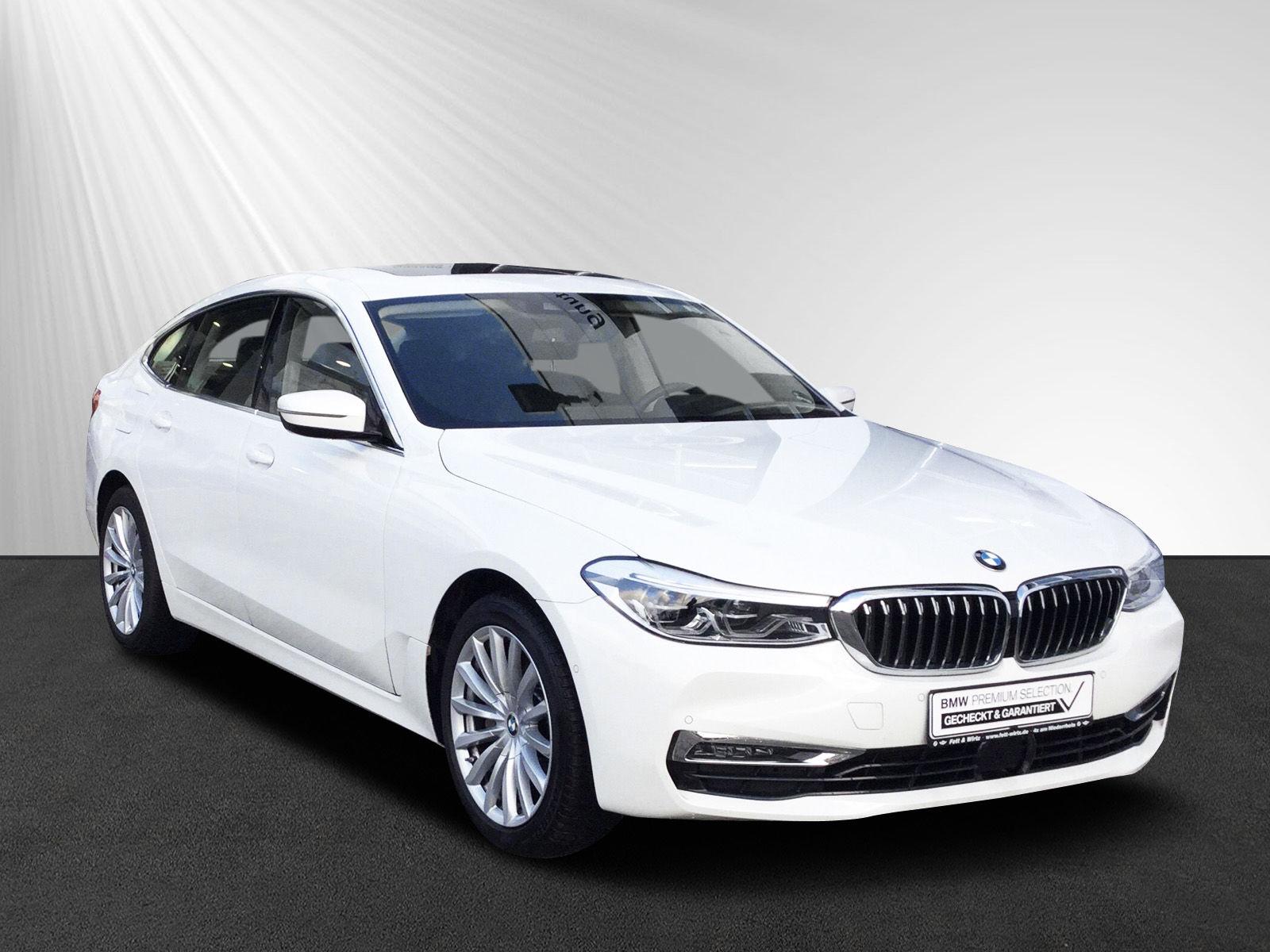BMW 630 Gran Turismo GT A LuxuryLine Komforts DA+ Pano, Jahr 2019, petrol