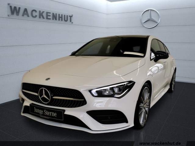 Mercedes-Benz CLA 220 Shooting Brake AMG NIGHT+PANO+SPUR+VERK, Jahr 2019, Benzin