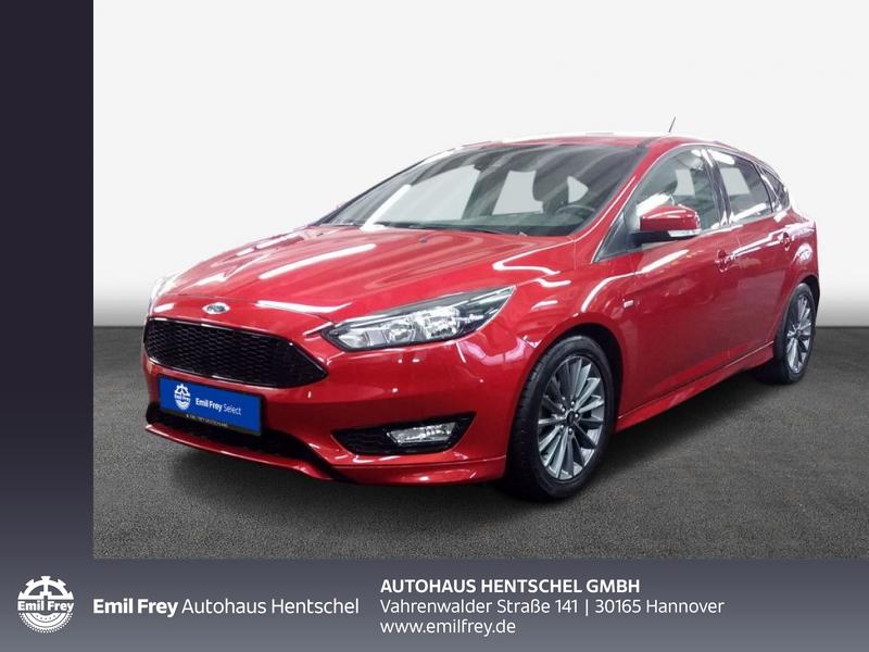 Ford Focus 1.0 EcoBoost Start-Stopp-System ST-LINE, Jahr 2017, Benzin