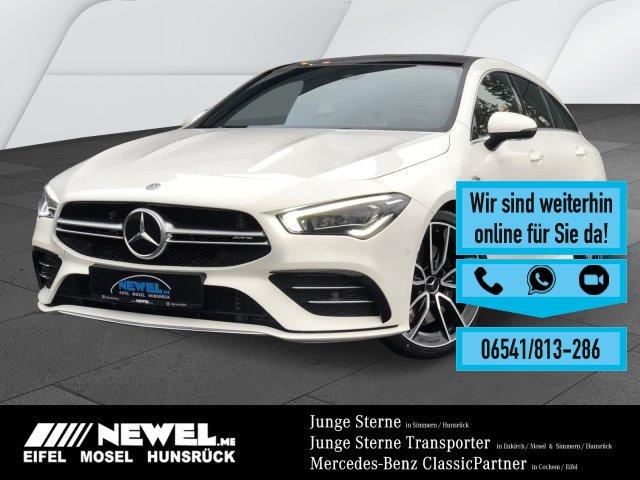 Mercedes-Benz Mercedes-AMG CLA35 4M SB *PANO*LED*AHK*MULTIBEAM, Jahr 2019, Benzin