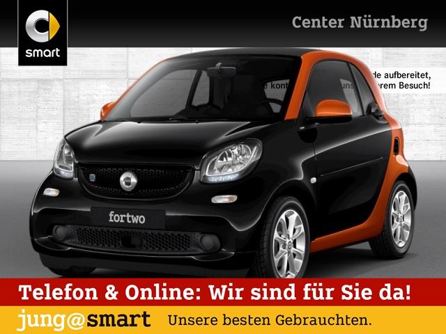 smart fortwo coupé 60kWed passion cool&Audio SHZ Tempom, Jahr 2017, Elektro