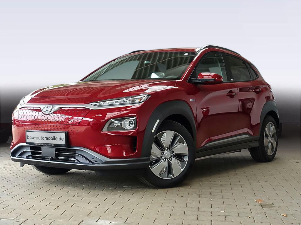 Hyundai Kona Electro Premium Sitz-Paket Leder Kamera, Jahr 2021, Elektro