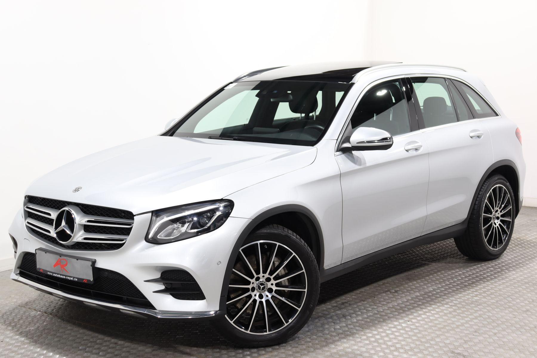 Mercedes-Benz GLC 350 d 4M AMG AIRMATIC,PANO,STANDHEIZ,MEMORY, Jahr 2017, Diesel