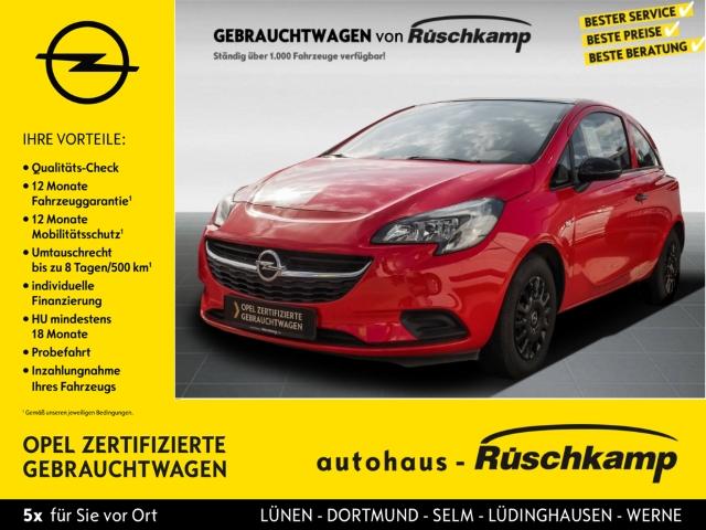 Opel Corsa E Selection 1.2 Klima Radio ESP R Black-line, Jahr 2017, Benzin