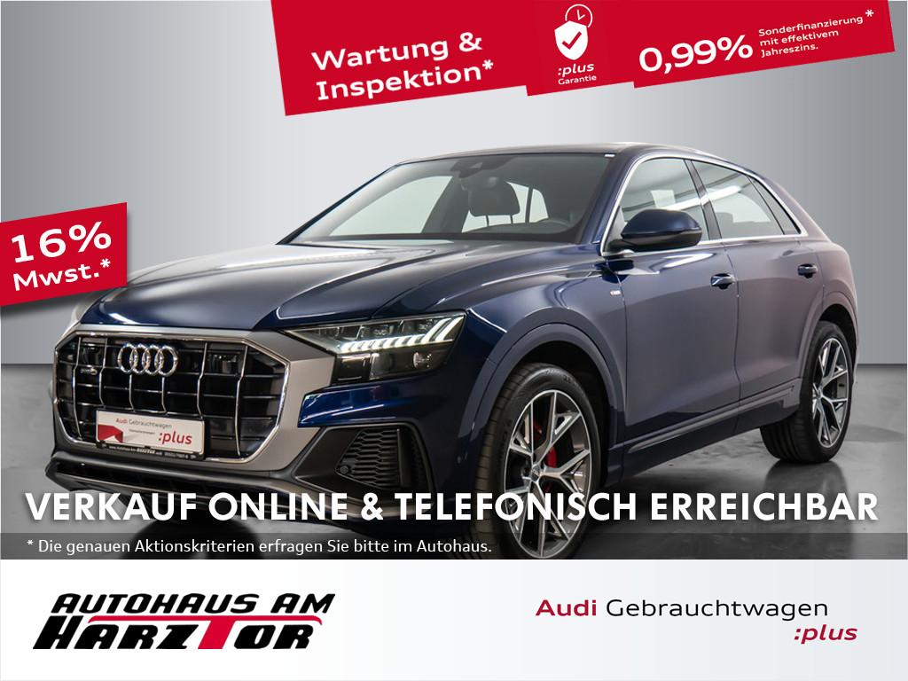Audi Q8 50 TDI quattro S-line Head-up B&O, Jahr 2019, Diesel