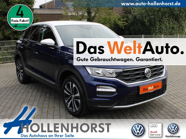 Volkswagen T-ROC 1.5 l BT TSI IQ.DRIVE PLA APP-CONNECT Klima, Jahr 2020, Benzin