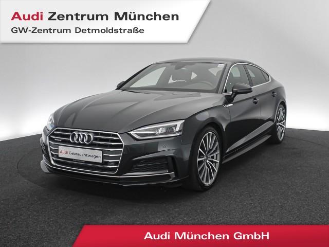 "Audi A5 Sportback 3.0 TDI qu. Sport S line LED Navi Leder 19"" S tronic, Jahr 2018, diesel"