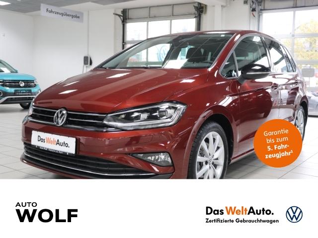 Volkswagen Touran IQ.DRIVE 1.0 TSI BMT Start-Stopp EU6d-T Navi ACC Parklenkass. Fernlichtass., Jahr 2019, Benzin