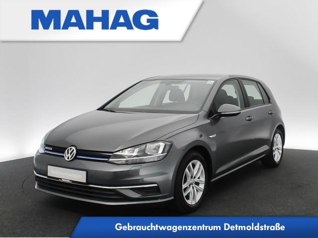 Volkswagen Golf VII 1.5 TSI COMFORTLINE Navi ergoActiveSitze ActiveInfo Sitzhz. ACC FrontAssist ParkPilot 6-Gang, Jahr 2019, Benzin