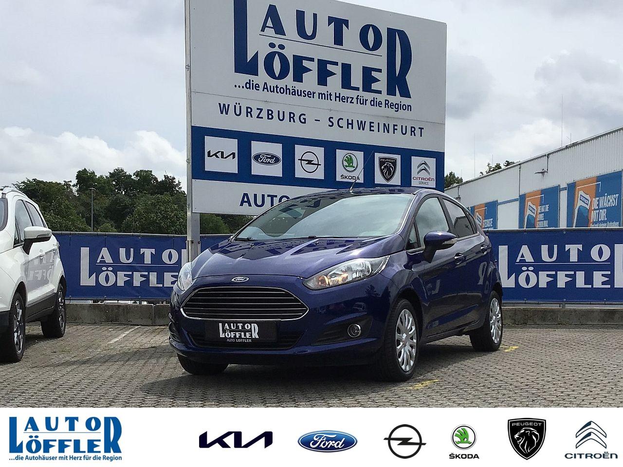 Ford Fiesta Trend 1.2 l - Klima CD AUX Radio Klima, Jahr 2013, Benzin