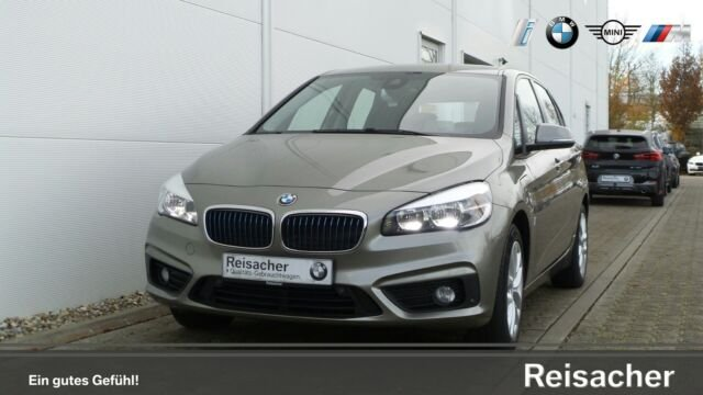 BMW 225xe A iPerformance Active Tourer Advantage, Jahr 2017, petrol