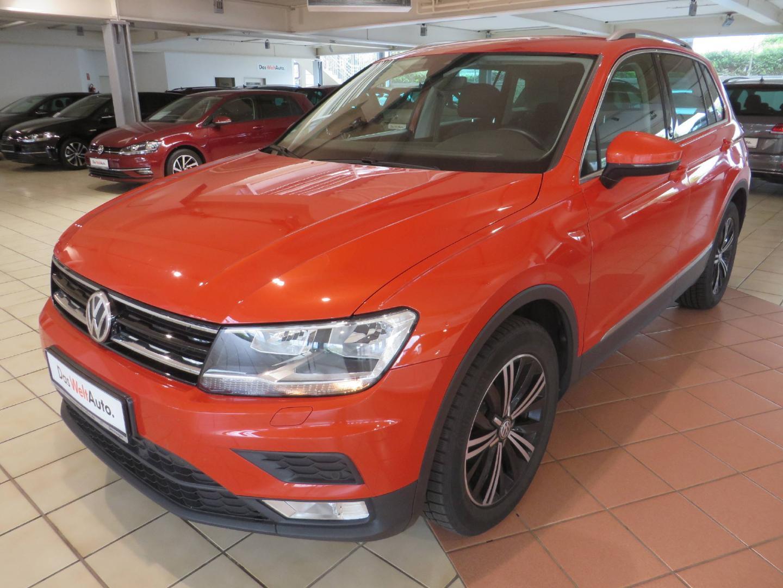Volkswagen Tiguan Comfortline 1.4 TSI BMT Sound, Jahr 2017, Benzin
