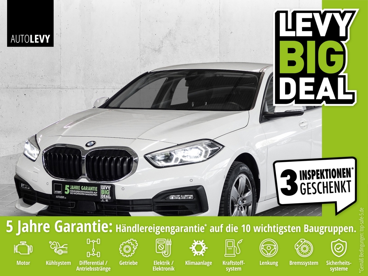 BMW 118i Advantage *NAVI*RFK*PDC*BLUETHOOTH*, Jahr 2020, Benzin