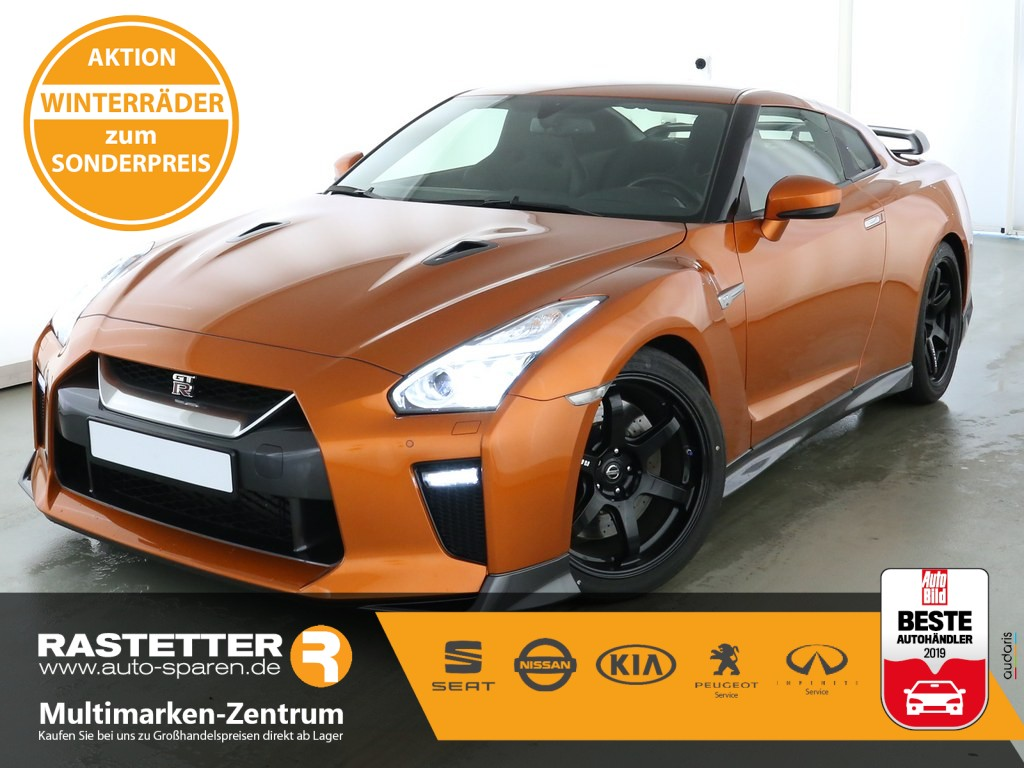 Nissan GT-R Track Edition 20-Zoll NISMO Carbon Heckspoiler BOSE Connect, Jahr 2019, Benzin