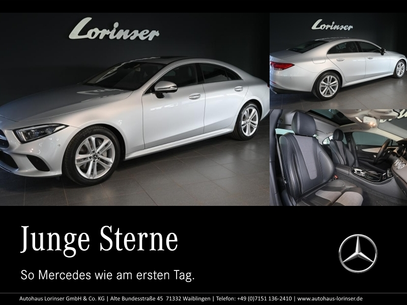 Mercedes-Benz CLS 300 d Coupé MULTIBEAM/DISTRONIC/360°/SHZ/PTS, Jahr 2018, Diesel
