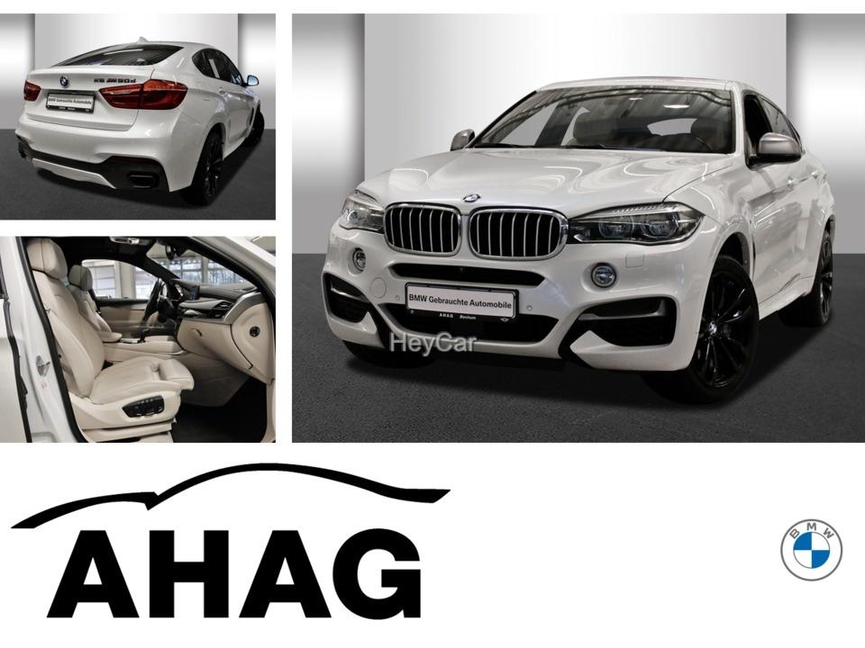 BMW X6 M50d M Sportpaket Innovationsp. Navi Prof., Jahr 2018, Diesel