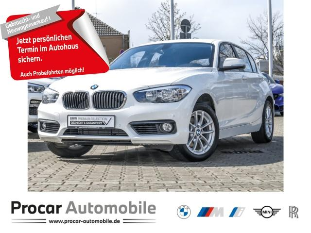 BMW 120i Advantage Navi Business PDC v/h Shz Klima, Jahr 2018, Benzin