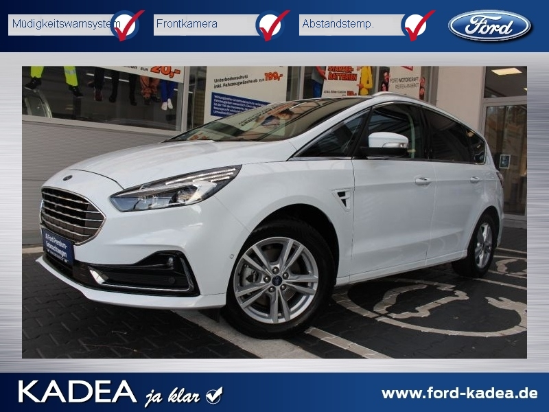 Ford S-Max 1.5 Titanium FACELIFT MY2020 LED Alarm DAB, Jahr 2020, Benzin