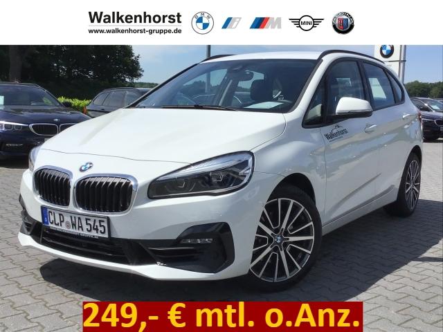 BMW 220 Active Tourer i Navi HiFi 249,- mtl. o.Anz., Jahr 2019, Benzin