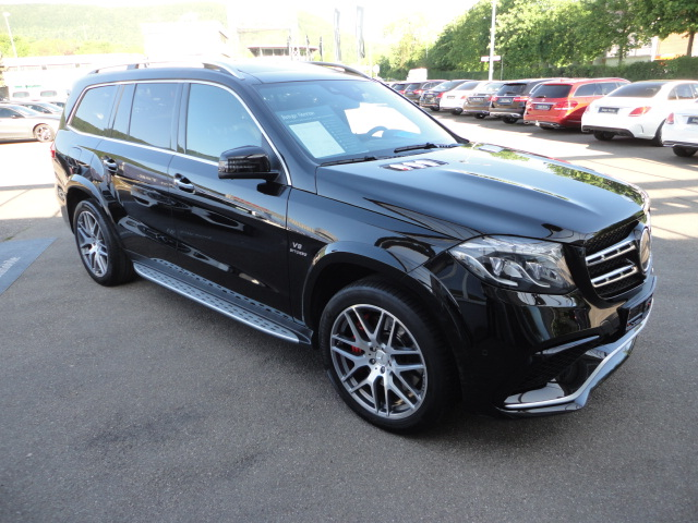 Mercedes-Benz AMG GLS 63 4MATIC Harman/Drivers P./Comand, Jahr 2016, Benzin