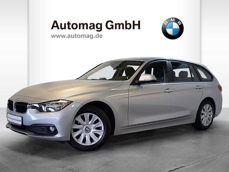 BMW 316d 1. Hd.* Scheckheft.*Freisprech+USB*Servotronic*35.000 Km!, Jahr 2016, diesel