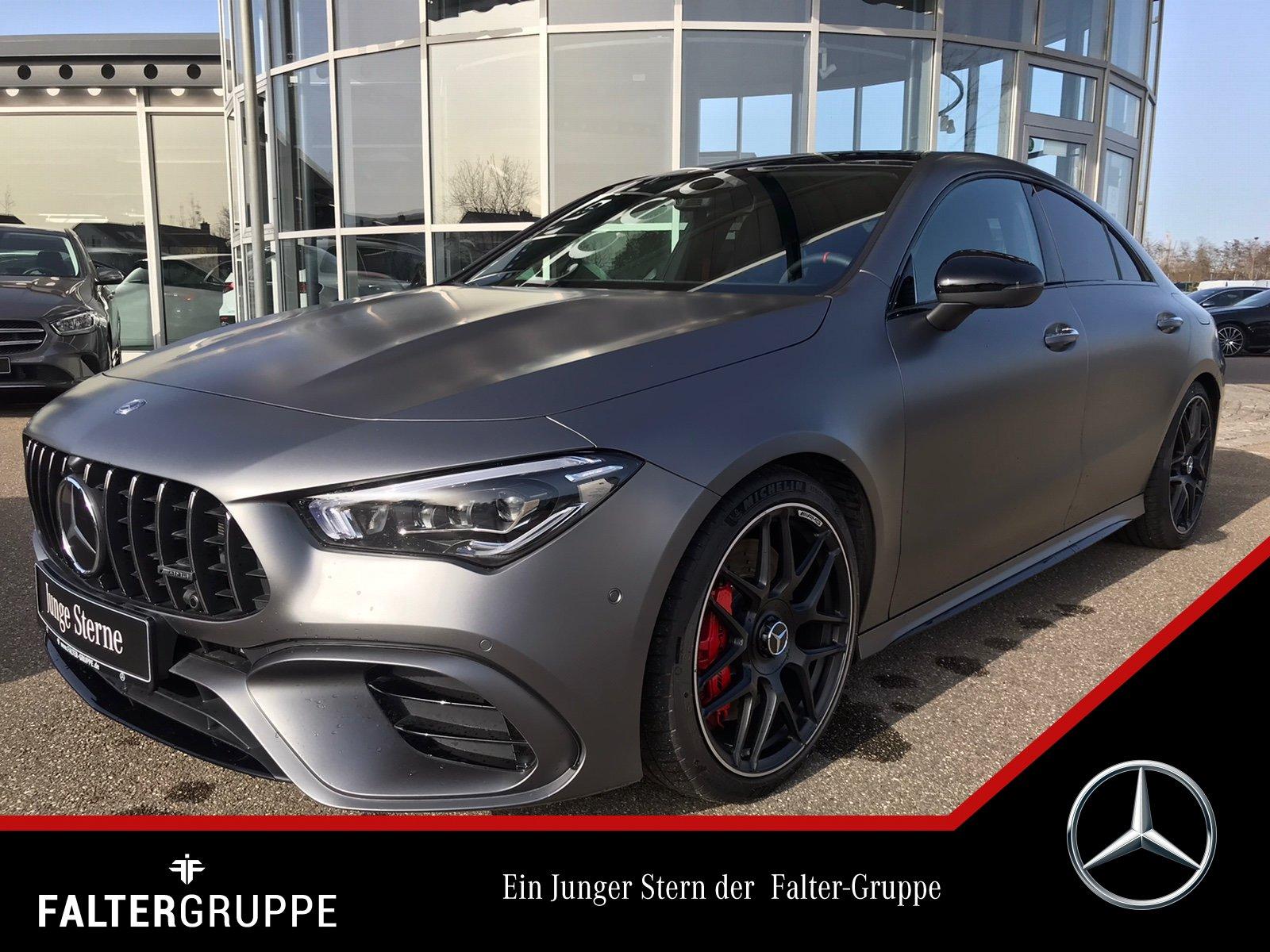 Mercedes-Benz CLA 45 88.970,-MAGNO Perf.Sitze DYNAMIC+ DISTRO, Jahr 2020, Benzin