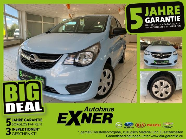 Opel Karl 1,0 SELECTION Klimaanlage, Unfallfrei, 5 Ja, Jahr 2016, Benzin