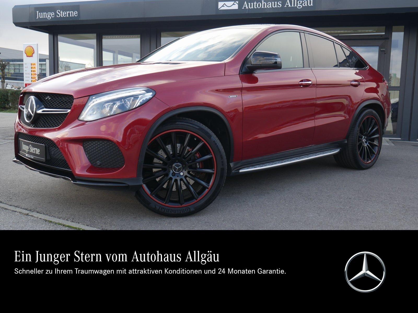 Mercedes-Benz GLE 450 AMG COUPE 4M DISTRONIC STANDH PANO COM, Jahr 2016, Benzin